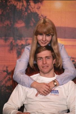 Марина и Владимир Сальниковы, 1988 г.